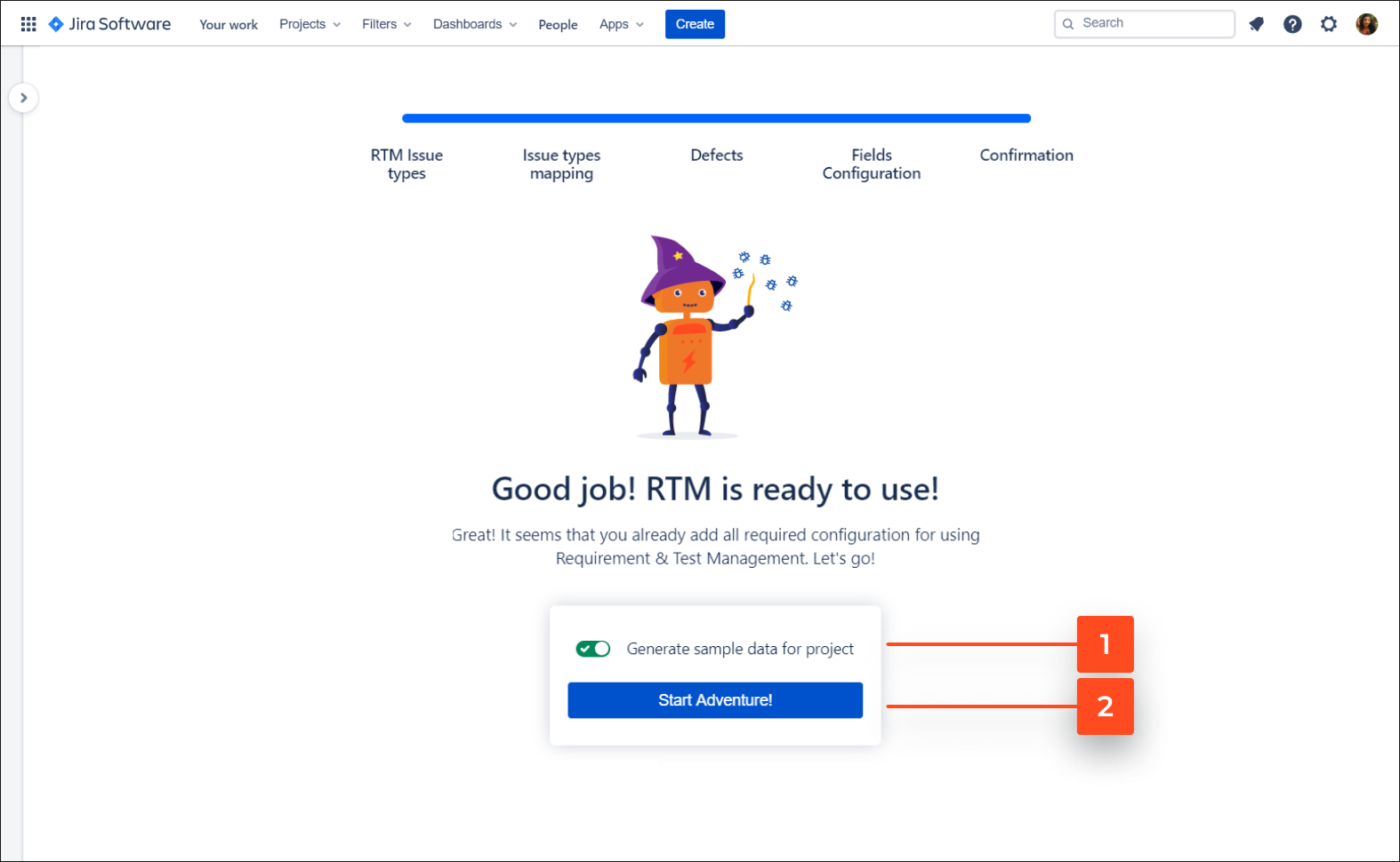 Now you can start your adventure with Requirements and Test Management for Jira app