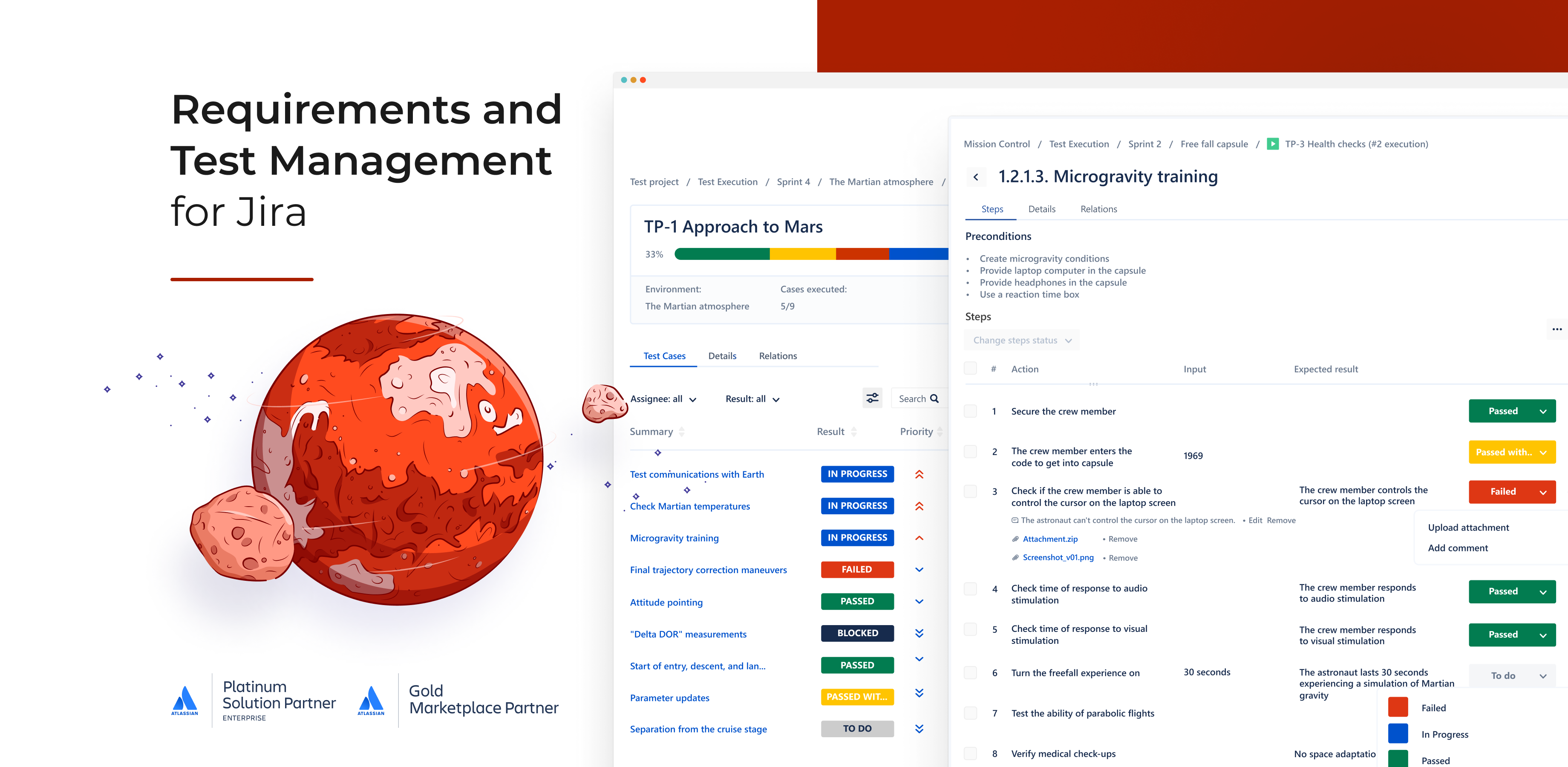 Requirements and Test Management for Jira app
