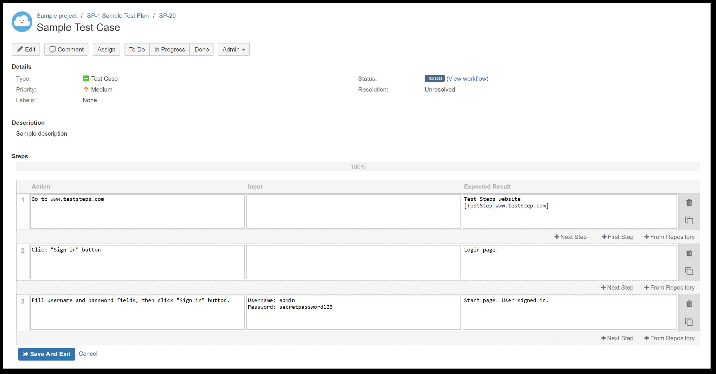 TestFLO Cloud: Add steps