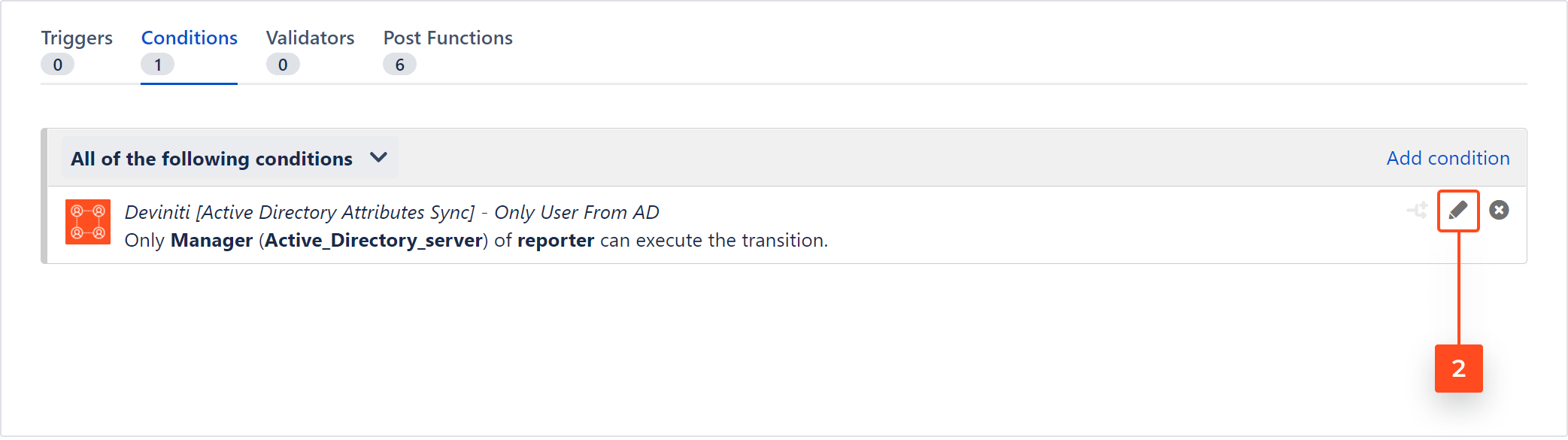 Active Directory Attributes Sync for Jira - Updating the Only User From AD condition