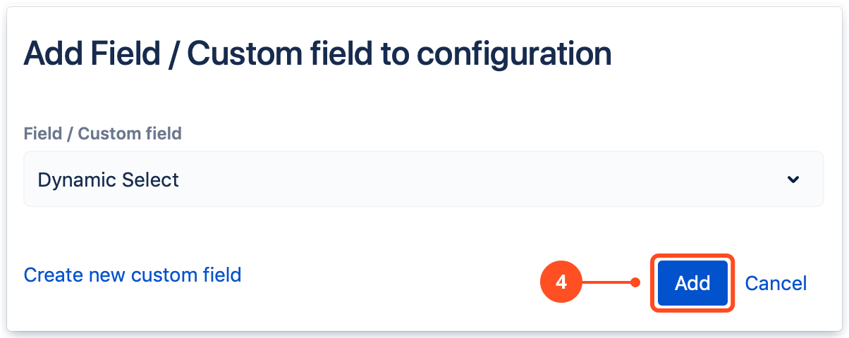 Add Dynamic Forms configuration in Jira