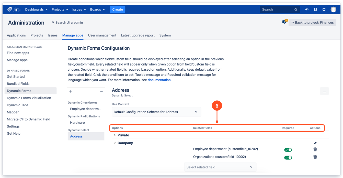 Dynamic Forms details in Jira