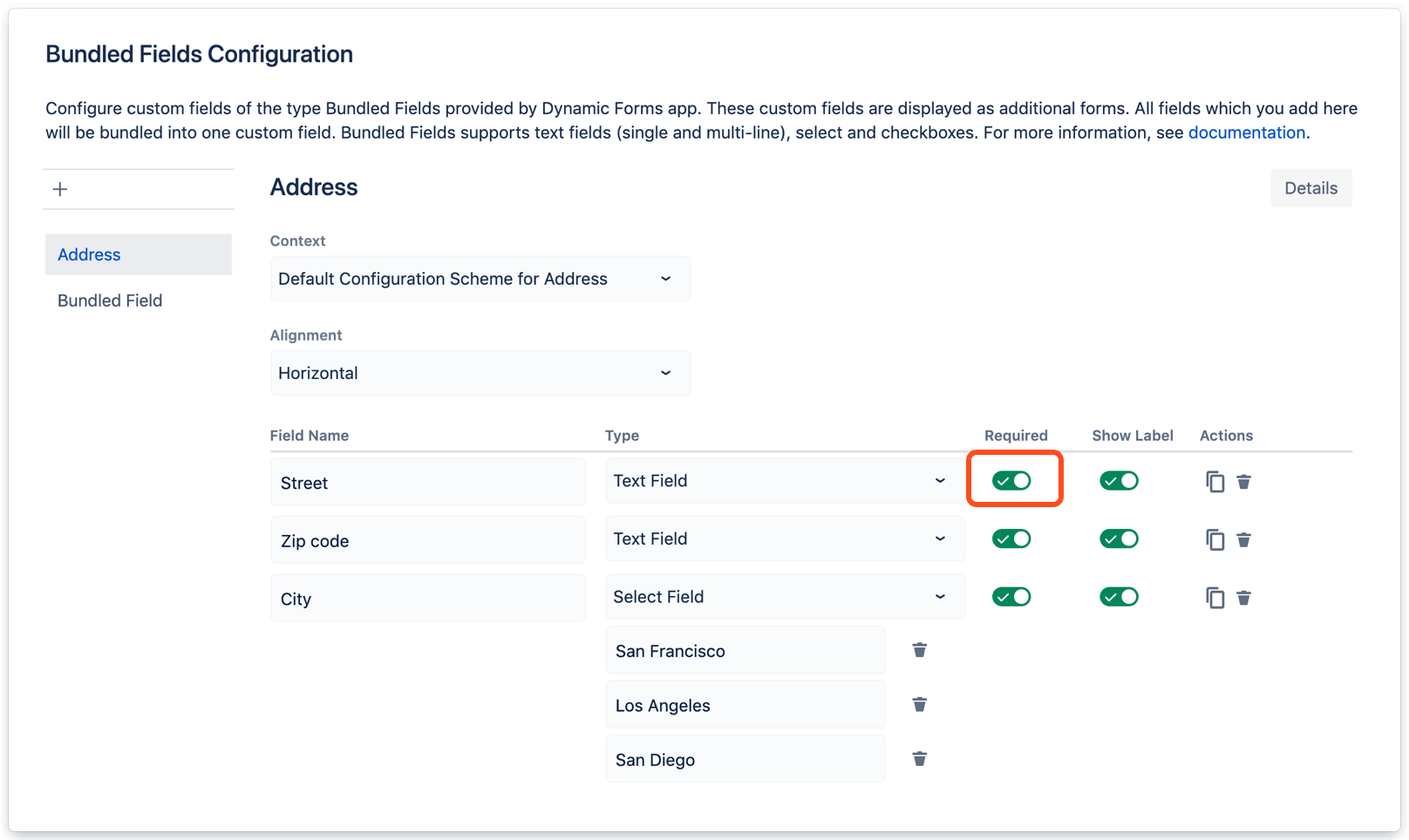 Dynamic Custom Fields in Jira