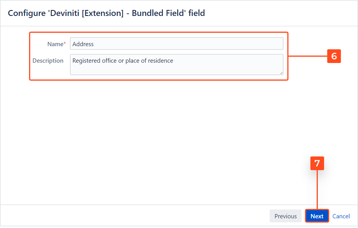 Extension for Jira Service Management - Add the Bundled Field custom field to Jira