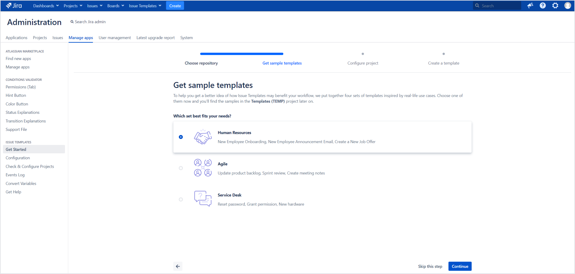 Issue Templates for Jira - Get sample templates