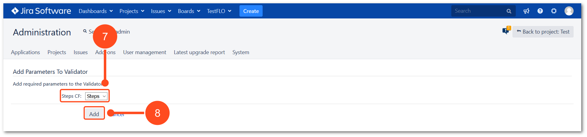 Advanced workflow validator