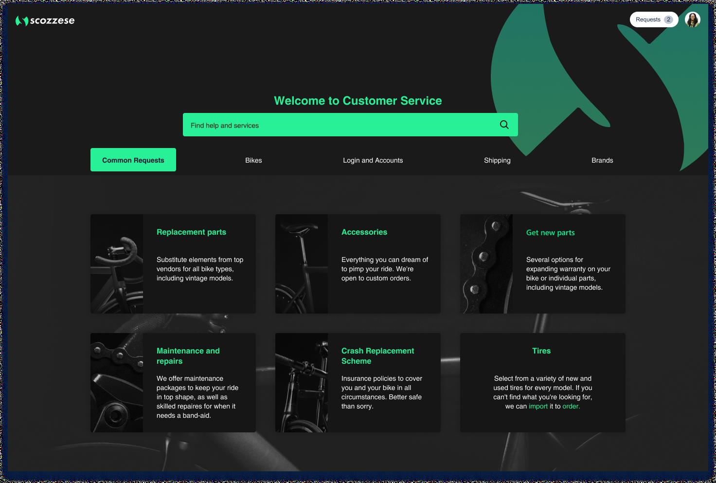 Slick and Elegant Manufacturer Customer Portal