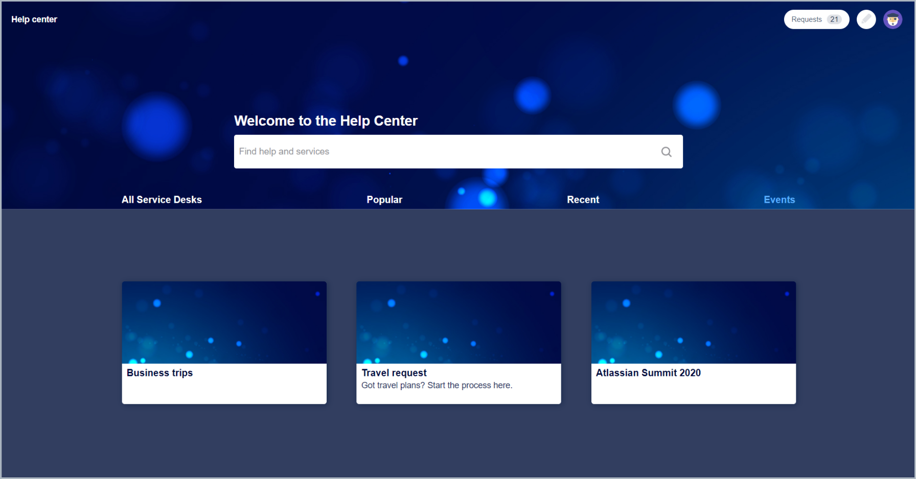 Now you can see added category configuration with Theme Extension for Jira Service Desk