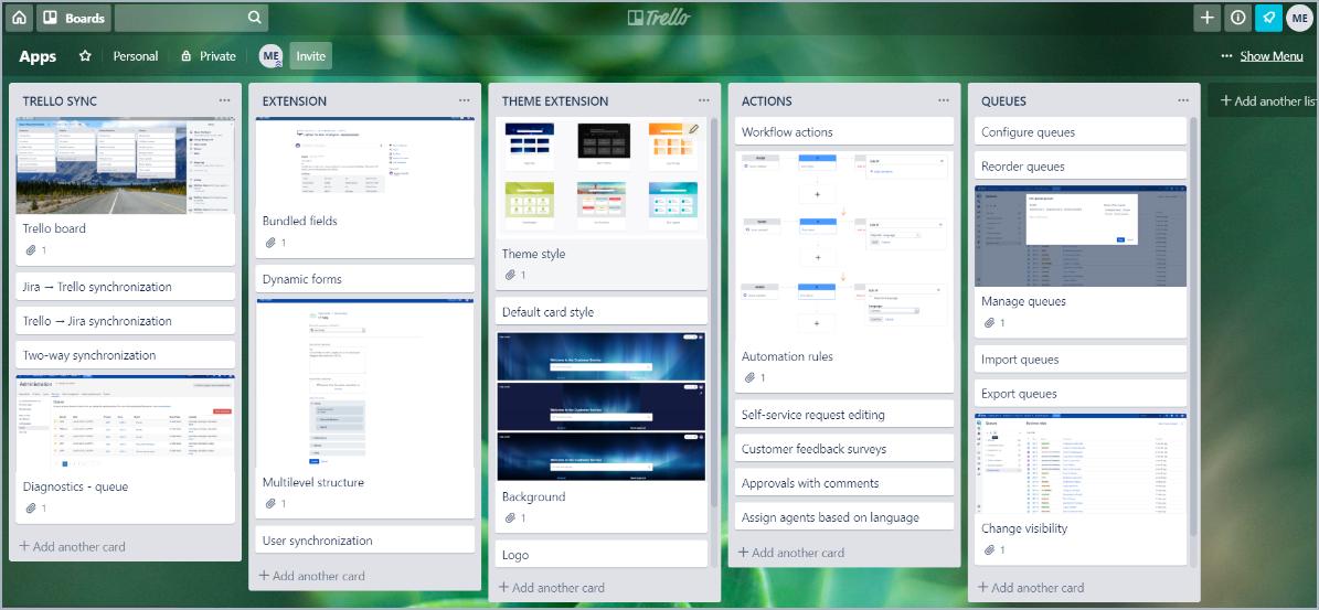Share company portfolio with Trello Sync for Jira